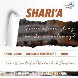 Shari'a: gevaar of verrijking voor het Westen?