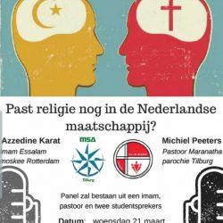 Past religie nog in de maatschappij?